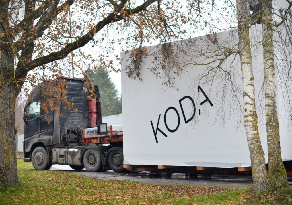 Wrapped KODA delivery_photo by Kelli Roosimagi